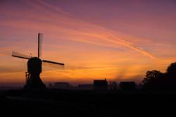 Windmill 'Laaglandse molen'