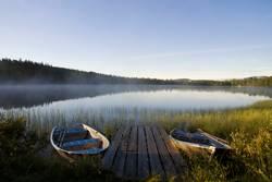 Lake Tevsjon near Ljusnedal