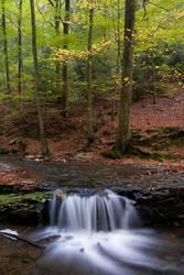 Waterfall in the Ninglinspo river