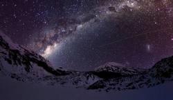 Kalte Nacht im Tongariro National Park