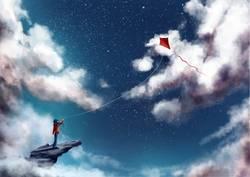 Drachenflieger (Illustration)