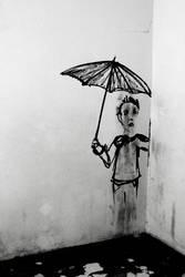Ich steh im Regen